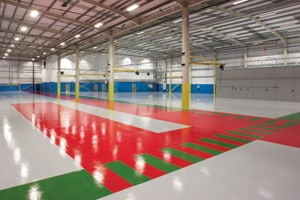 Industrial Resin Flooring Installation