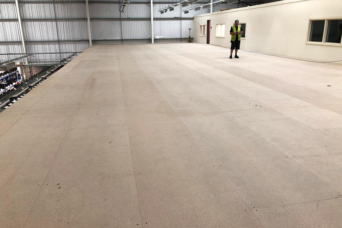 Warehouse Mezzanine Floor Gets The Epoxy Floor Treatment